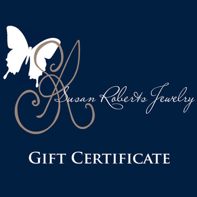 Susan Roberts Jewelry gift certificate