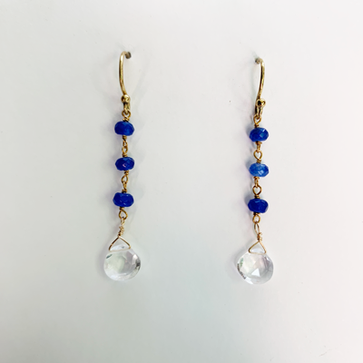 Sale Quartz Waterfall Earrings