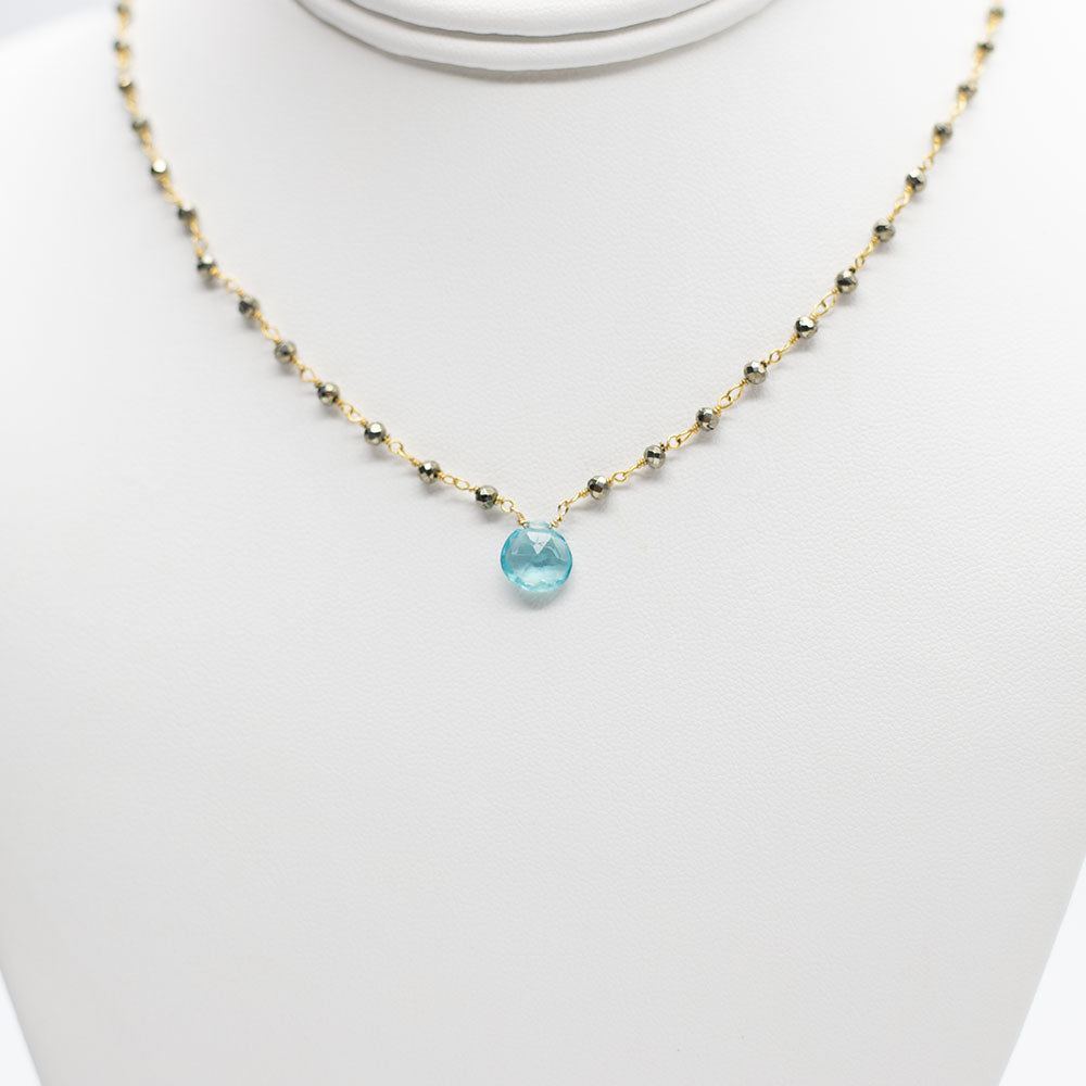 Load image into Gallery viewer, Waterfall Apatite Necklace