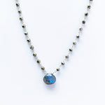 Waterfall Labradorite Necklace