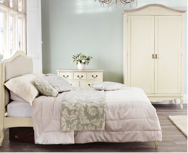 Antoinette Champagne Luxury French style bedroom suite