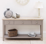 Truffle and Acacia wood Hall cupboard/console/cabinet/buffet server