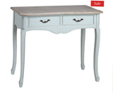 Duck egg French style console table