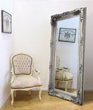 Antique French style Extra Large 'leaner' Mirror