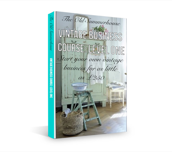 Vintager business course for up-cycled furniture