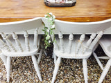 Cutlery drawer solid vintage rustic 'barn-find' 6 - 8 seater table