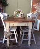 Dining tables rustic cottage 4,6 and 8 seaters. SOURCED TO ORDER