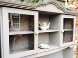 Linen grey buffet hutch