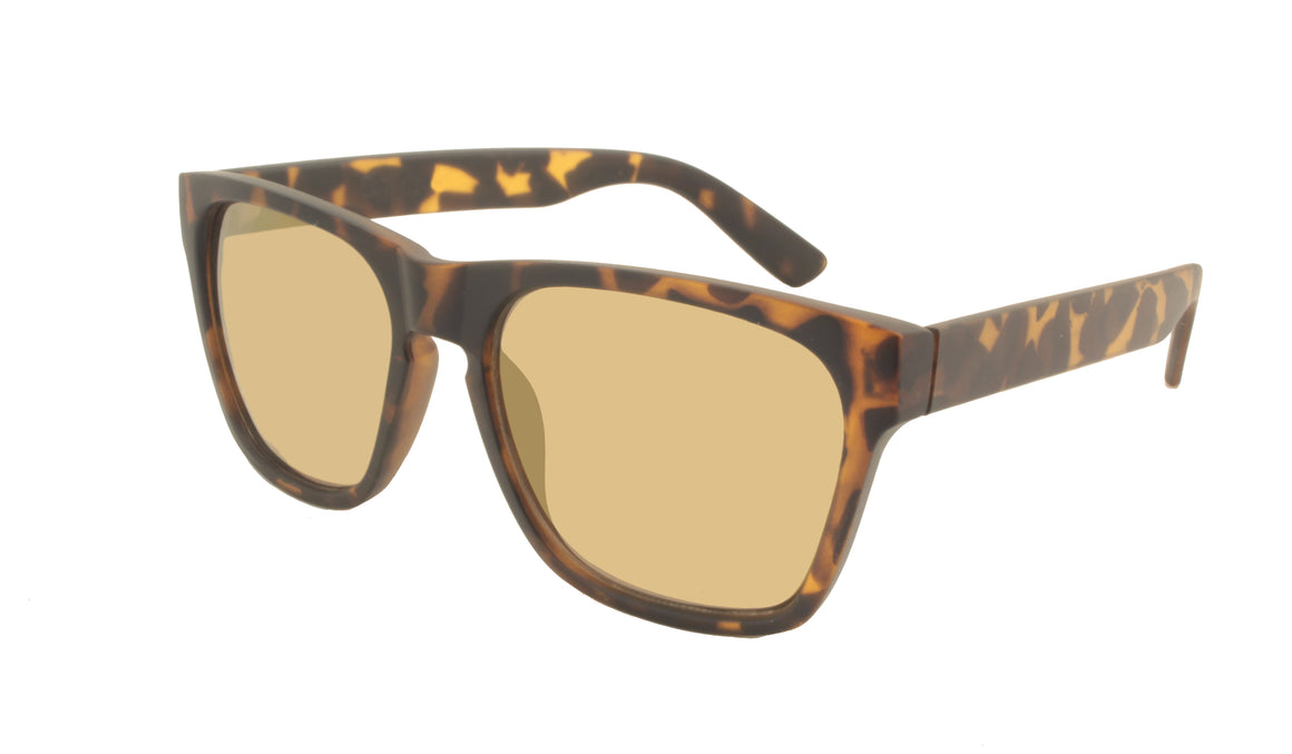 VEERIE  -  matte tortoise / light gold mirror