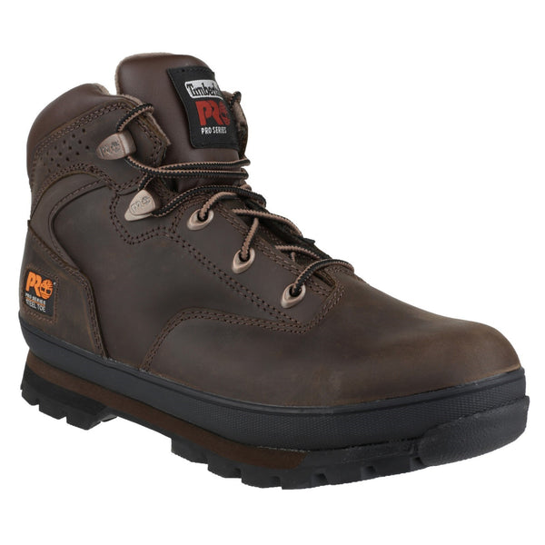 Brown Oiled Euro Hiker Lace-up Safety Boot