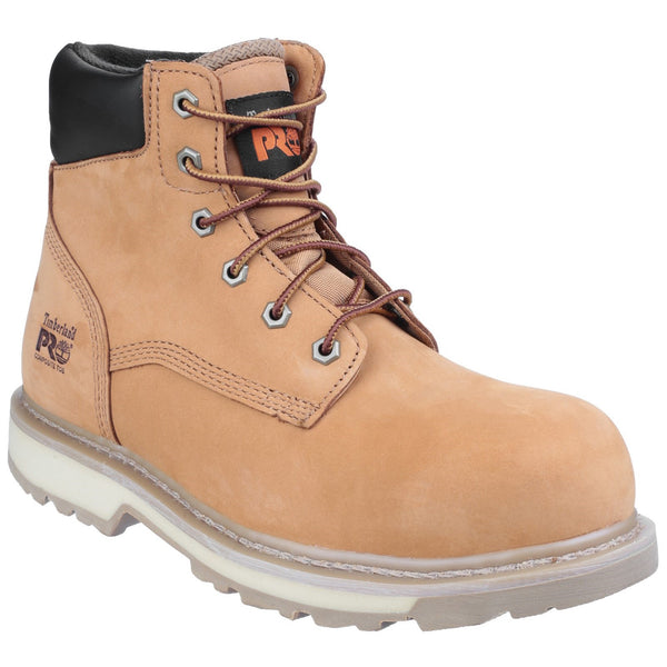 Wheat Traditional Lace-up Safety Boot