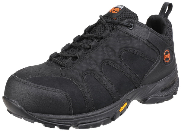 Black Wildcard Lace-up Safety Shoe