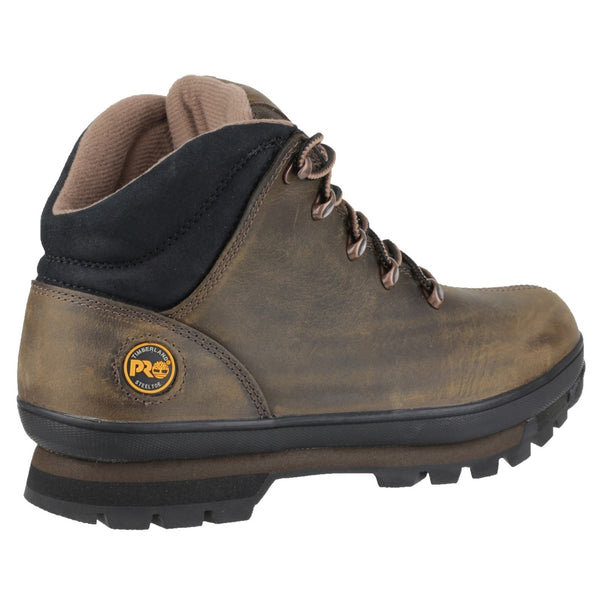 Brown Splitrock Lace Up Safety Boot