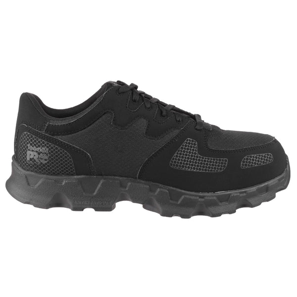 Black Powertrain Low Black Lace-up Safety Shoe