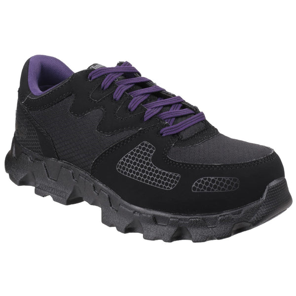 Black Powertrain Low Lace-up Safety Shoe