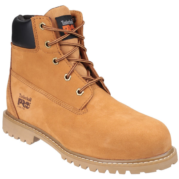 Wheat Waterville Lace up Water Resistant Safety Boot