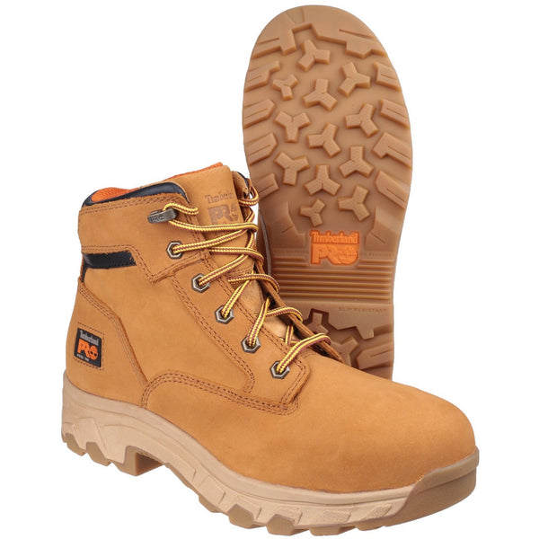 Wheat Workstead Lace-up Safety Boot