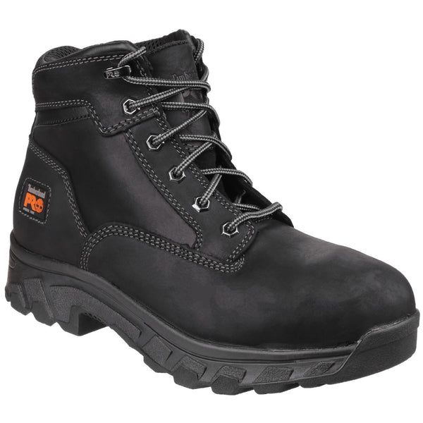 Black Workstead Lace-up Safety Boot