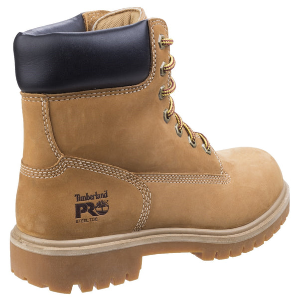 Wheat Direct Attach Lace up Safety Boot
