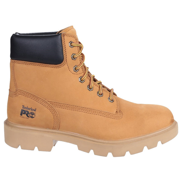 Wheat Sawhorse Lace Up Safety Boot