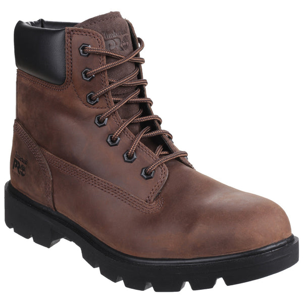 Brown Sawhorse Lace Up Safety Boot