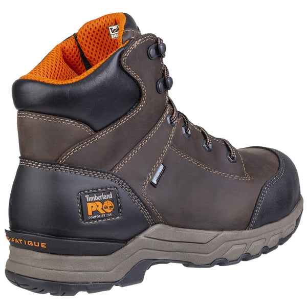 Brown Hypercharge Lace Up Safety Boot