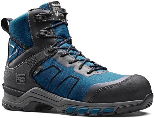 Teal/Black Hypercharge Composite Safety Toe Work Boot