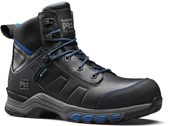 Black/Teal Hypercharge Composite Safety Toe Work Boot