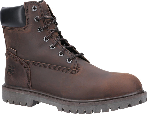 Brown Iconic Safety Toe Work Boot
