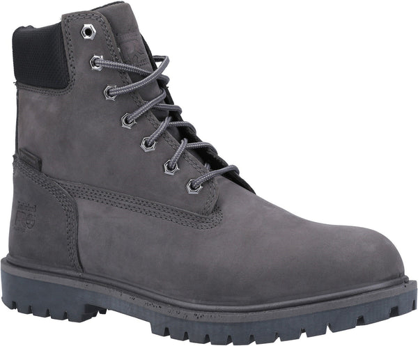 Grey Iconic Safety Toe Work Boot