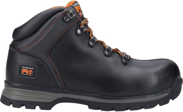 Black Splitrock XT Composite Safety Toe Work Boot