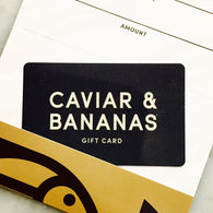 C&B Gift Card - (available in a range of denominations)