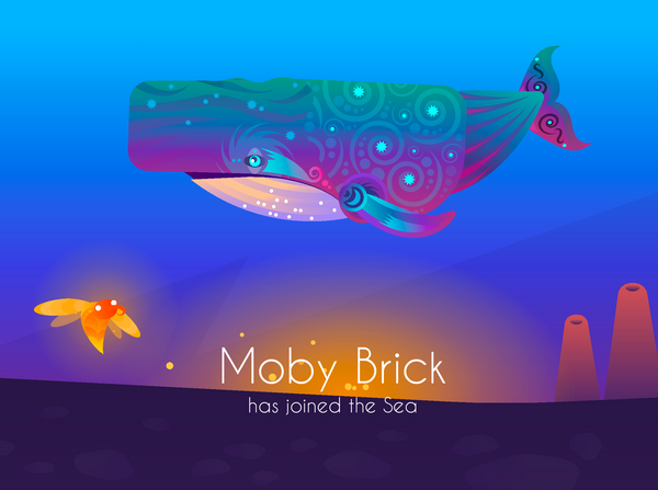 Moby Brick: The Space Whale