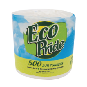 Bathroom Tissue (Two Ply, 500 Sheets) - 72/case