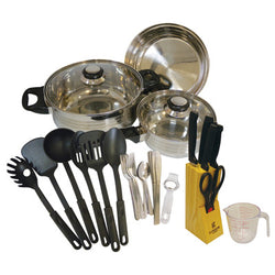 Kitchenware Set (Aluminum, 32 pc) - 2/case