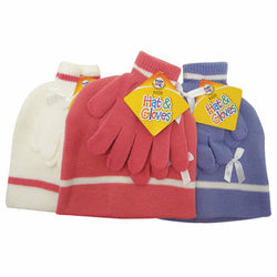 Children's Hat & Glove Set - 36/case
