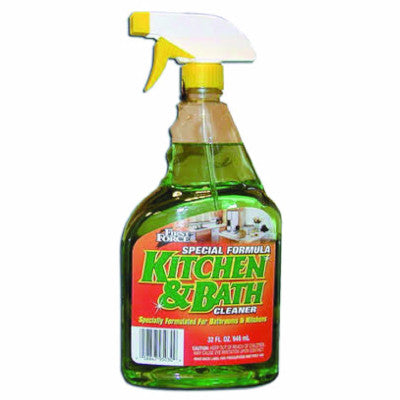 Kitchen & Bathroom Spray Cleaner (32 oz) - 12/case