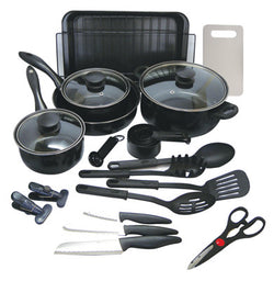 Kitchenware Set (Enamel, 30 pc) - 2/case