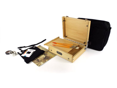 8x10 Traditional Pochade Kit  (Brick & Mortar only)
