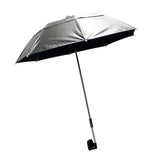 Silver Deluxe Soft Clamp Umbrella