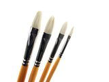 Medium Handle Filbert Brushes