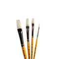 Short Handle Flat Brushes