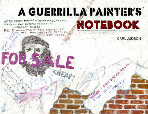 A Guerrilla Painter's Notebook Vol 1 Cover