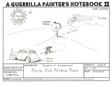 A Guerrilla Painter's Notebook Vol 2 Cover