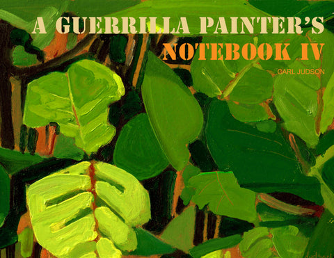 A Guerrilla Painter's Notebook Vol 4 Cover