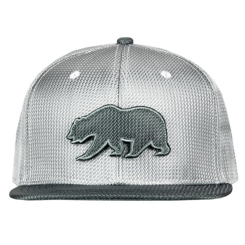 Removable Bear Silver Ballistic Fitted Hat