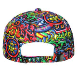 Chris Dyer Rainbow Serpent Red Dad Hat