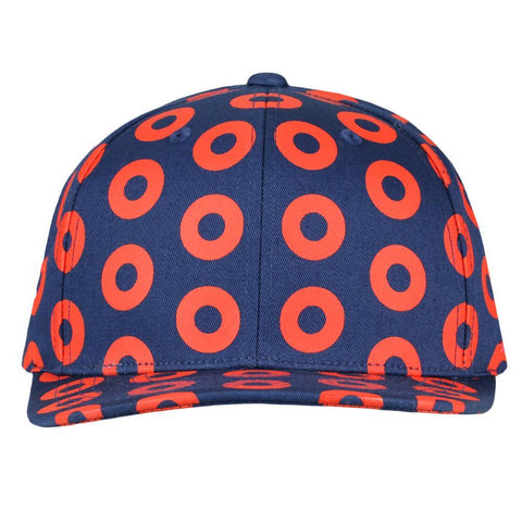 Donut Allover Snapback Hat