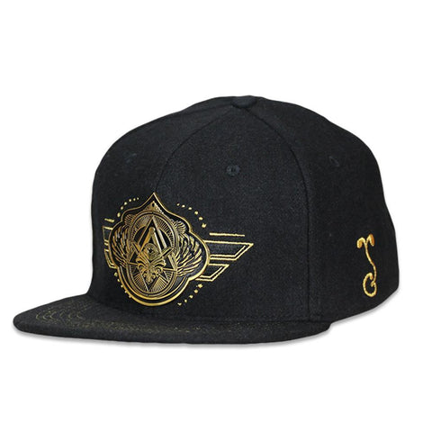 Secret Society V2 Gold Snapback Hat
