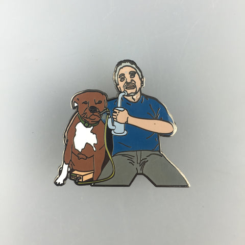 Dab Whisperer Pin
